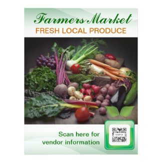 Flyer Template Farmer's Market