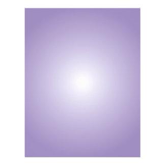 Flyer Template: Radial Gradient: Purple