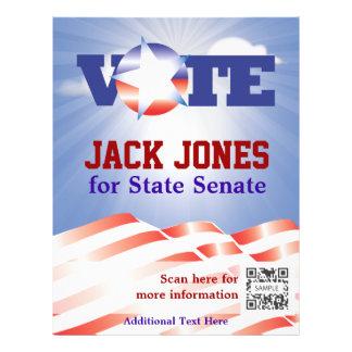 Flyer Template Vote Senate