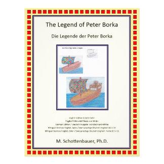 Flyer The Legend of Peter Borka