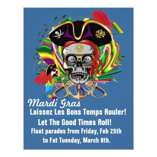 Flyer Theme  Mardi Gras