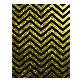 Flyer Zig Zag Sparkley Texture