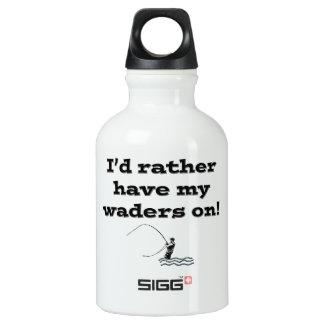 Flyfisherman / I'd rather have my waders on! SIGG Traveller 0.3L Water Bottle