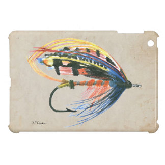 FlyFishing Lure Art Salmon Fly Lure iPad Mini Covers