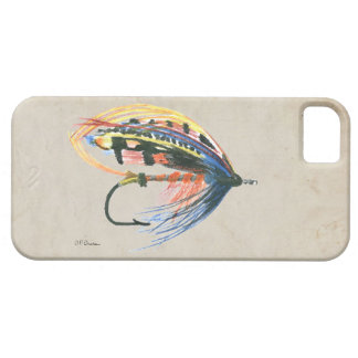 FlyFishing Lure Art Salmon Fly Lure iPhone 5 Cover