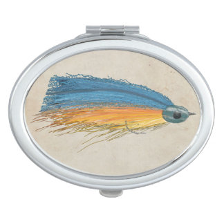 FlyFishing Lure Art Salmon Fly Lure Mirrors For Makeup