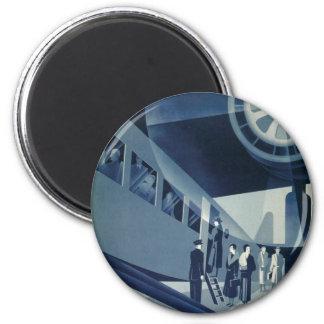 Flyg Med A-B Aerotransport 6 Cm Round Magnet