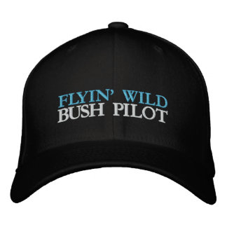 FLYIN' WILD EMBROIDERED HAT
