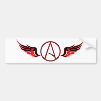 "Flying ""A"" Bumper Sticker"