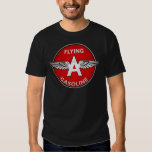 Flying A Gasoline crystal version Tee Shirt