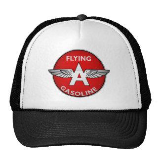 Flying A Gasoline crystal version Trucker Hats