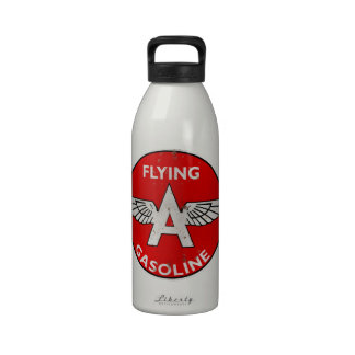 Flying A Gasoline rusted version Water Bottle