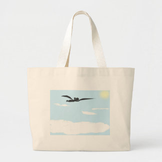 flying-above-the-clouds tote bag