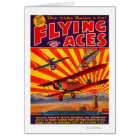 Flying Aces Magazine Cover 2 Card