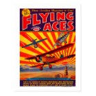 Flying Aces Magazine Cover 2 Postcard