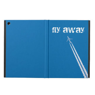 Flying airplane iPad air cover