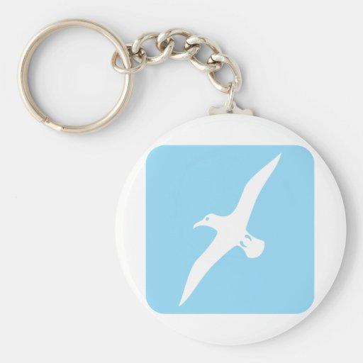 Flying Albatross Keychains