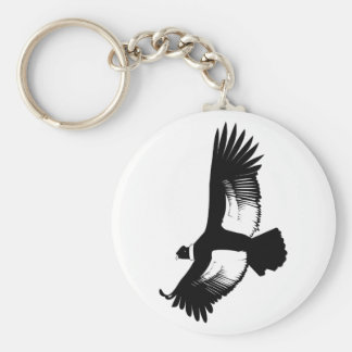 Flying Andean Condor Keychain