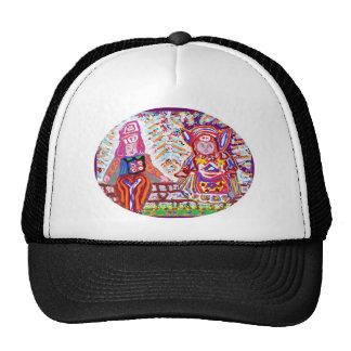 Flying Angels - Alien Visitors Trucker Hats