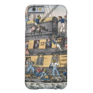 Flying Artillery or A Horse Marine (colour engravi Barely There iPhone 6 Case