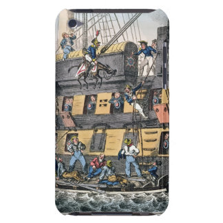 Flying Artillery or A Horse Marine (colour engravi iPod Touch Case-Mate Case