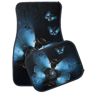 Flying At Night Car Mat