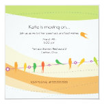 Flying away - farewell party invitation