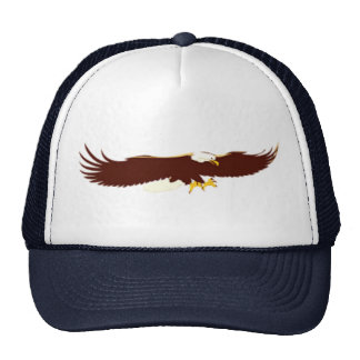 Flying Bald Eagle Cap