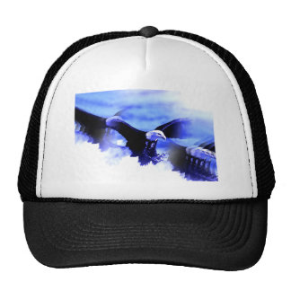 Flying Bald Eagle Hats