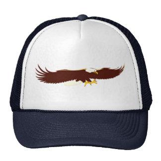 Flying Bald Eagle Mesh Hat