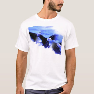 Flying Bald Eagle T-Shirt