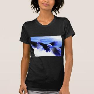 Flying Bald Eagle Tee Shirts