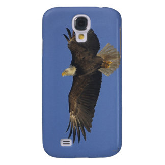 Flying Bald Eagle Wildlife-supporter Art Galaxy S4 Case