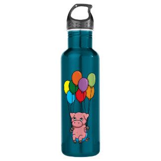 Flying Balloon Pig 710 Ml Water Bottle