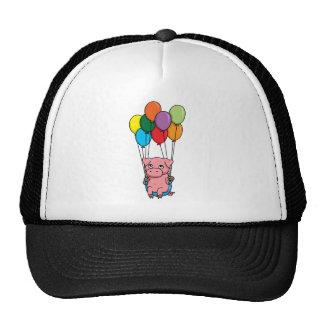 Flying Balloon Pig Cap