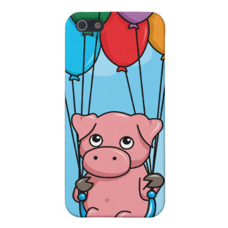 Flying Balloon Pig iPhone 5 Cover