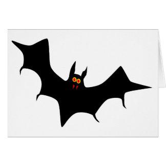 Flying Bat Card