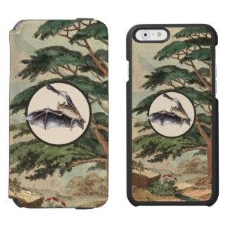 Flying Bat In Natural Habitat Illustration Incipio Watson™ iPhone 6 Wallet Case