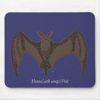 Flying Bat Mouse Pad