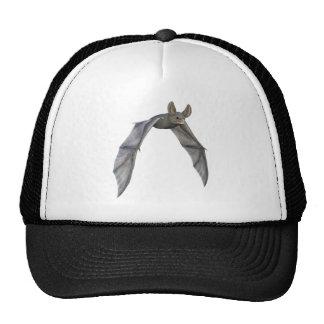 Flying Bat with Wings on Downstroke Cap