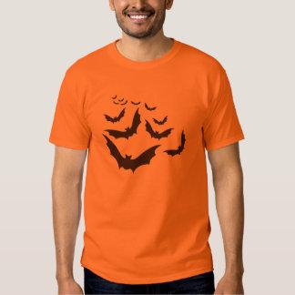Flying Bats Halloween Shirt