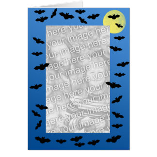 Flying Bats Photo Greeting Card