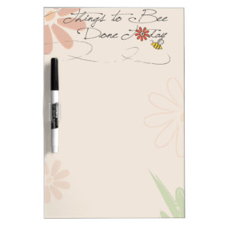 flying bee dry erase board