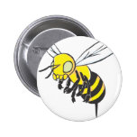 Flying Bee Insect Pin