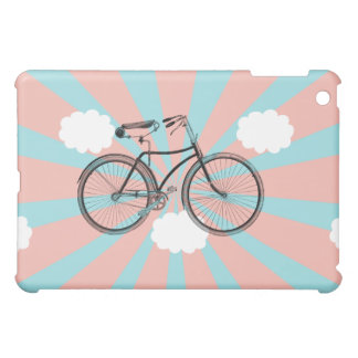 Flying Bicycle Pink Rey iPad Mini Case