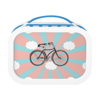 Flying Bike Pink Ray Lunch Box