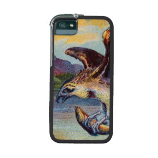 Flying Bird Of Prey With Fish Cover For iPhone 5