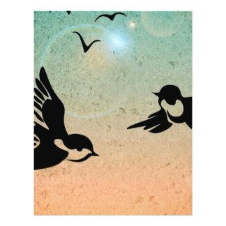 "Flying Birds 8.5"" X 11"" Flyer"