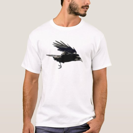 FLYING BLACK CROW Raven-lovers T-Shirt