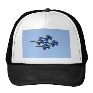 Flying Blue Angel Trucker Hat
